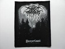 DARKTHRONE  PANZERFAUST   WOVEN  PATCH