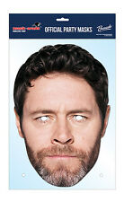 Howard Donald Official Take That 2D Card Party Face Mask Fancy Dress Up Pop Band