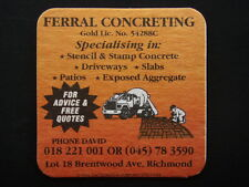 FERRAL CONCRETING LOT 18 BRENTWOOD AVE RICHMOND 045 783590 COASTER