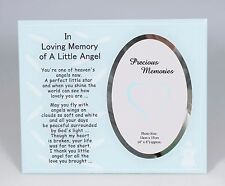 Blue Boy In Loving Memory of a Little Angel Photo Frame Memorial Gift