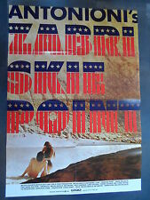 ZABRISKIE POINT - Filmplakat A1 - Michelangelo Antiononi - Mark Frechette