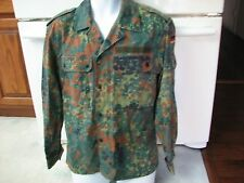 German Military camo jacket vintage 1996 Feuchter brand medium + patches