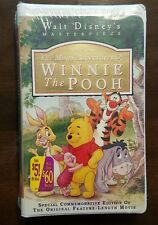 Many Adventures of Winnie the Pooh VHS 1996 New Sealed Commemorative Free Ship