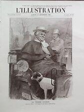 L' ILLUSTRATION 1906 N 3325 LA FEMME- COCHER DE FIACRE,dessin de LOUIS SABATTIER