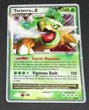 Torterra Lv.X DP09 DP Black Star HOLO Promo EXCELLENT Pokemon Card
