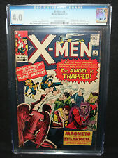 X-Men #5 - 3rd App of Magneto - 2nd Scarlet Witch & Quicksilver - CGC 4.0 - 1964
