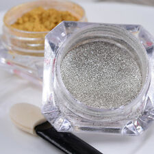Shinning Nail Mirror Powder Gold Sliver Nail Art Chrome Pigment Glitters DIY