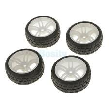 4 PCS/Set RC 1:10 Short Course Truck Tires Set Tyre Wheel Hub Rim 12mm Hex