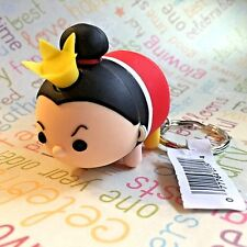 Authentic Disney Tsum Tsum Vinyl Figural Keychain Clip Ring Queen of Hearts