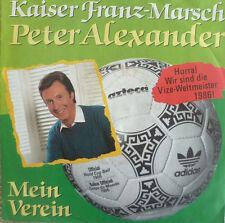 """7"""" 1986 rar MINT -! peter Alexander l'empereur François marche"""