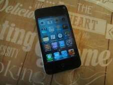 Apple iPod Touch 2nd Generación Negro (8GB) Pantalla Rajada de trabajo