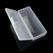 Case / Box / Holder Nail Art Tools Plastic Storage Box Brushes Container Clear