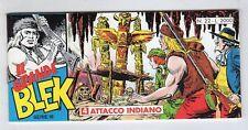 fumetto striscia - IL GRANDE BLEK serie inedita numero 22