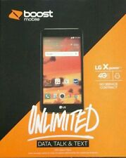 New Boost Mobile LG X Power w/ 1st Month Plan Included FREE & New Number!