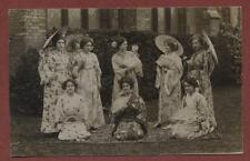 Southgate. Ladies Japanese costume church grounds  RP pc Q1549