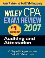 Wiley CPA Exam Review 2007 Auditing and Attestation (Wiley Cpa Examination Revie