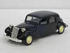 Citroen 15 Six Limousine mit großem Heck, schwarz ohne OVP, Solido, 1:43