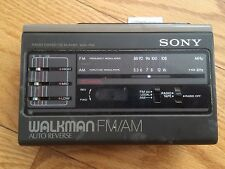 Vintage Sony Walkman WM-F69 Radio Dolby Cassette Player