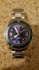 Deep Blue Daynight 32 T-100 Automatic – 32 Tritium Tubes Blue Dial