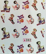 Nail Art Water Decals Betty Boop SY382