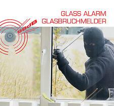 Glasbruchalarm ALARMANLAGE Fenstersicherung Glasbruchsensor Glasbruch Melder
