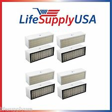 4 pack Filter A1001B to fit Bionaire  LC1060 & LE1160 Air Cleaner Dual Filter