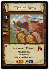 Man At Arms (2) - Age Of Empires ECG CCG Card (C96)