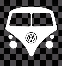 VOLKSWAGEN VW TRANSPORTER T4 T5 CAMPER BUS VAN CAR BUMPER VAG DUB STICKER DECAL