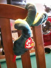 ty beanie baby original Hissy the snake 1997 girls&boys