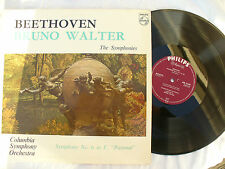 BRUNO WALTER LP BEETHOVEN THE SYMPHONIES No 6 in F pastoral MONO