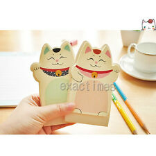 Cat Sticker Post It Flags Bookmark Page Marker Memo Index Tab Sticky Notes