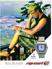 PUBLICITE ADVERTISING  2002    RIPCURL    MICK FANNING