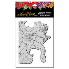LAUREL BURCH RUBBER STAMPS CLING HUMMINGBIRD BLOSSOM NEW cling STAMP