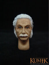 Custom 1/6 Scale KUMIK Headplay Albert  Einstein Head Sculpt KM012