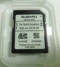 2013 2014 Subaru Outback/ Legacy Navigation SD Card Map U.S Canada #86283AJ66A