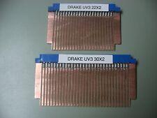 Drake UV-3 Transceiver Extender Board Pair Riser IN KIT FORM