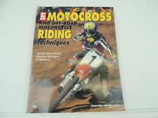 CYCLE PRO Book Pro Motocross Motorcycle AMA L5109