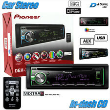 NEW Pioneer In-Dash Car Stereo CD/MP3/WMA/iPod Radio w/USB/AUX/Pandora/Mixtrax