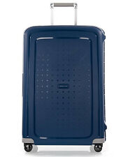 SAMSONITE ´S-CURE´ 4-ROLLEN REISE KOFFER TROLLEY 75 CM - DARK BLUE - UVP 199,-€