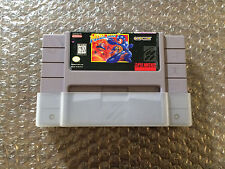 Mega Man 7 VII (Super Nintendo, SNES) Authentic - Tested - Acceptable shape