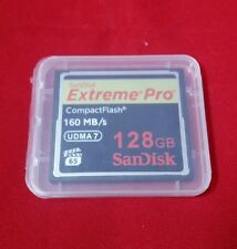 SanDisk 128GB 1000x 1067x Extreme Pro CompactFlash CF Memory Card (160MB/s) -New