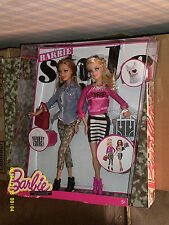2015 BARBIE STYLE STYLIN FRIENDS BARBIE & SUMMER DOLLS TWO PACK NRFB
