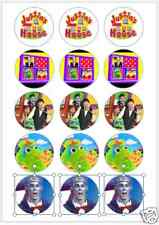 "15 x 2"" Justins House PRE CUT ICING Cup Cake Toppers Decorations"