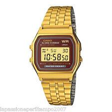 Novità Casio Orologio Unisex Laminato Gold Digital Vintage Style A15WGEA-5DF