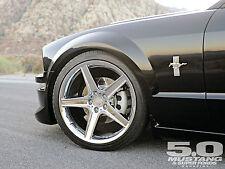 "20"" MUSTANG TOXIC WHEELS STAGGERED CHROMED  WHEELS SALEEN COBRA GT ROUSH USED"