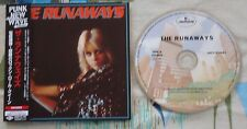 The Runaways S/TJapan Mini LP CD w Obi & Inserts Joan Jett Lita Ford