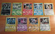 EX COMPLETE Pokemon ARCEUS PLATINUM Card PROMO Set AR1-AR9 Secret Holo Rare TCG