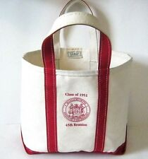 L.L. Bean Boat and Tote Canvas Bag MIT Class of 1951