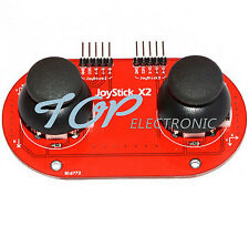 dual JoyStick Breakout Module Shield PS2 Joystick Game Controller for Arduino