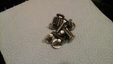 Bumper bolts  assorted lengths. Seconds quality and rejects.